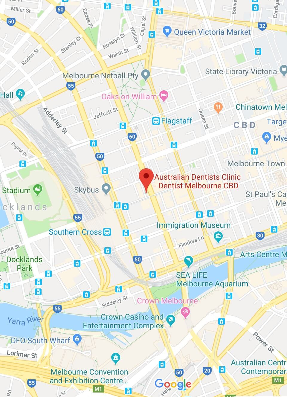 Australian Dentists Clinic - Melbourne CBD Location